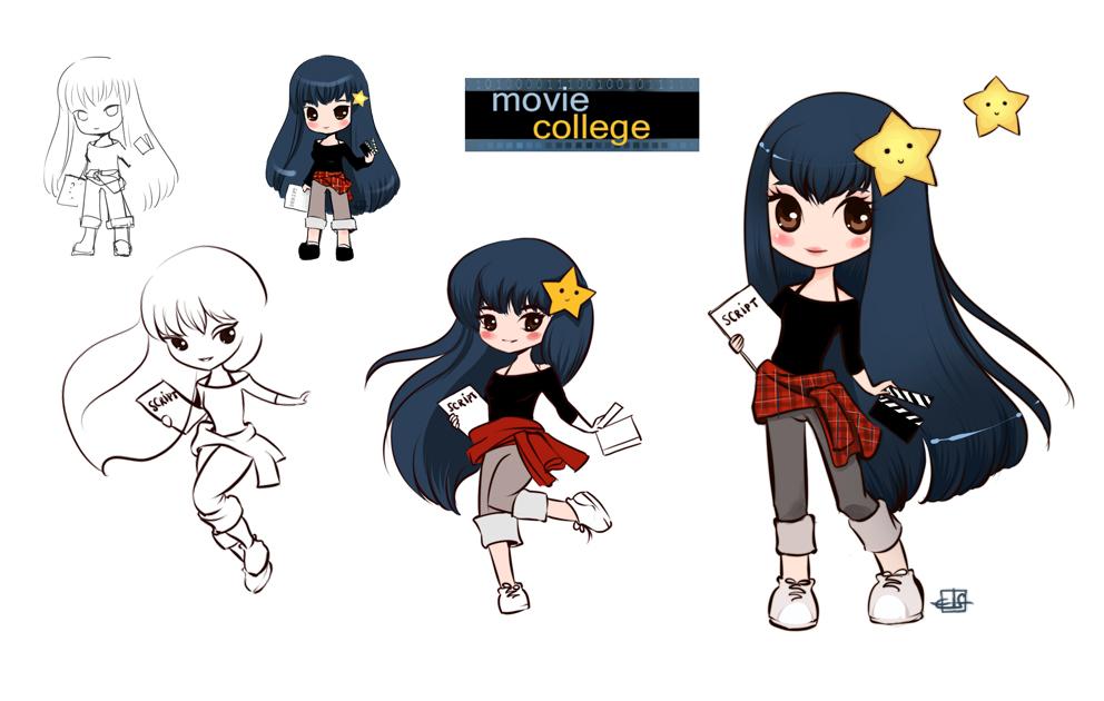 Charakterdesign im Anime