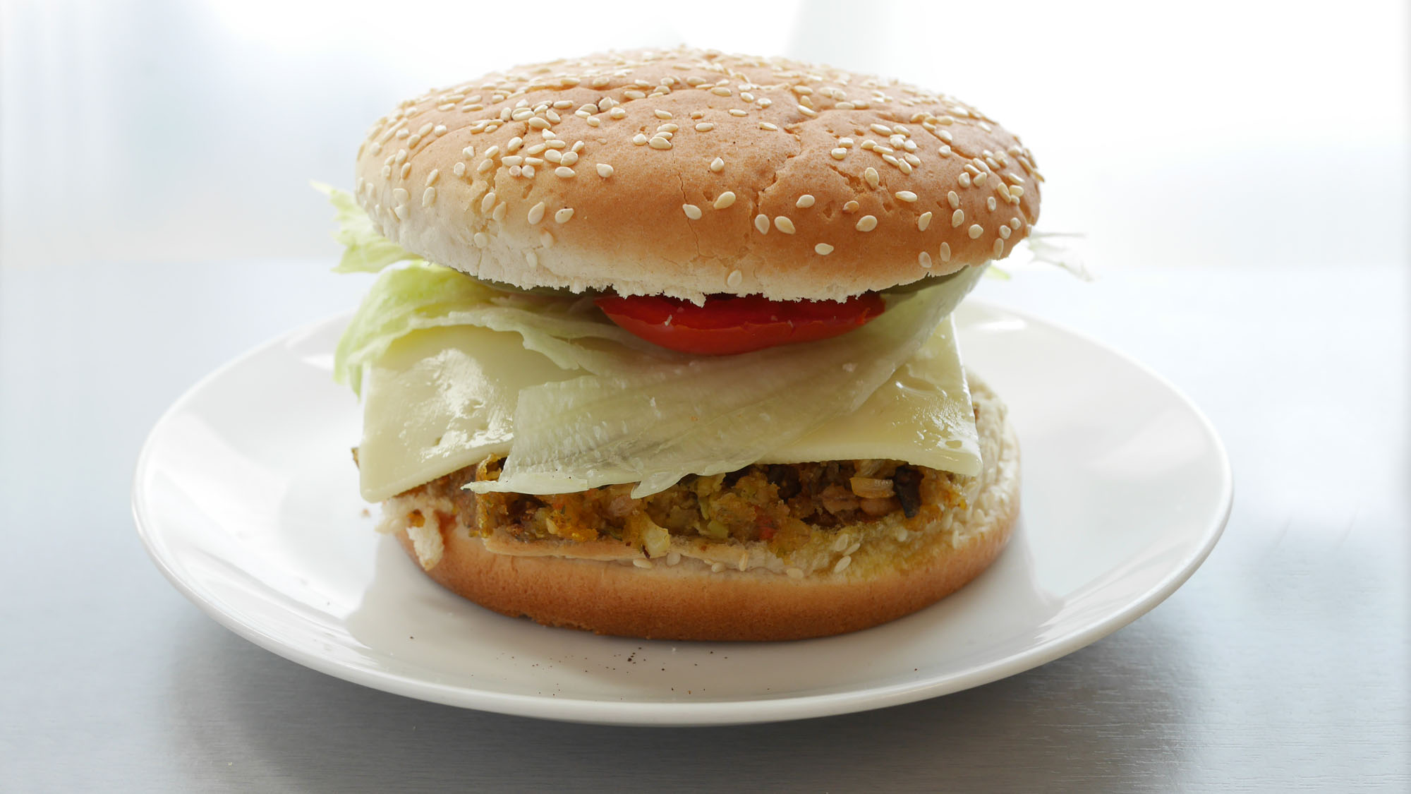 Food-Styling Burger perfekt