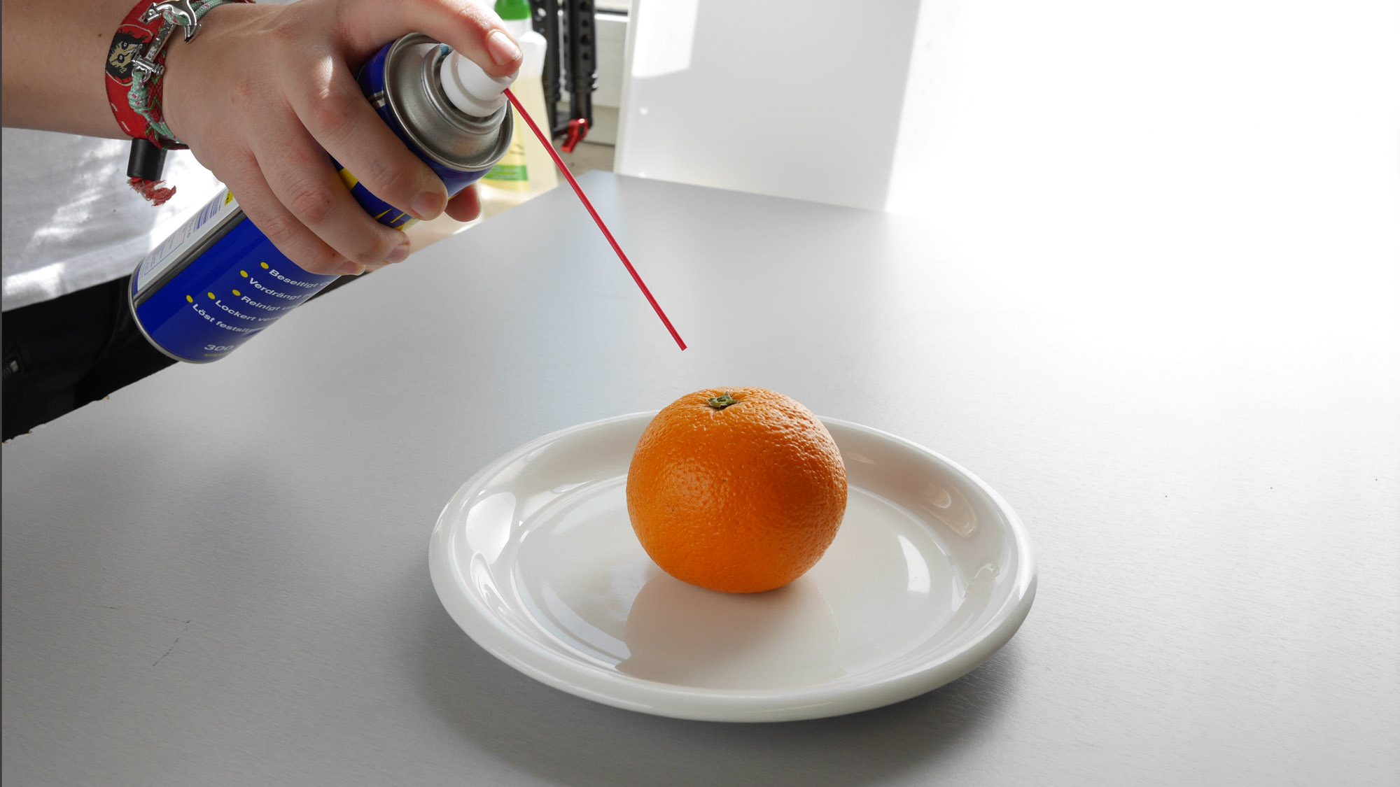 Food-Styling Orange