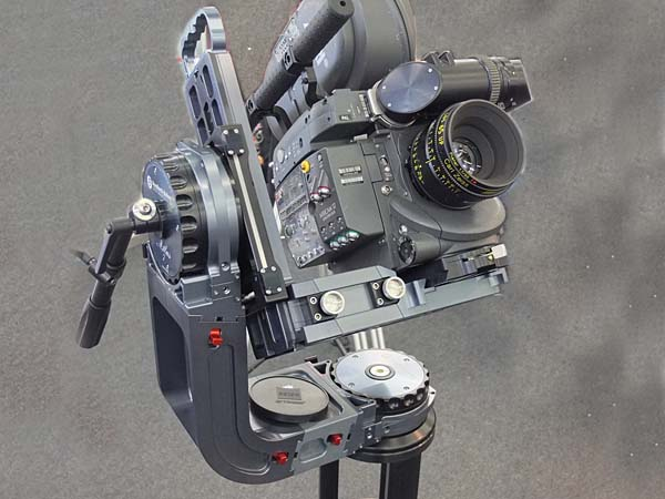 Remote-Head mit analoger Filmkamera