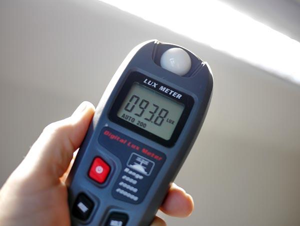 Laser Entfernungsmesser Lux : Lichtmessung in lux