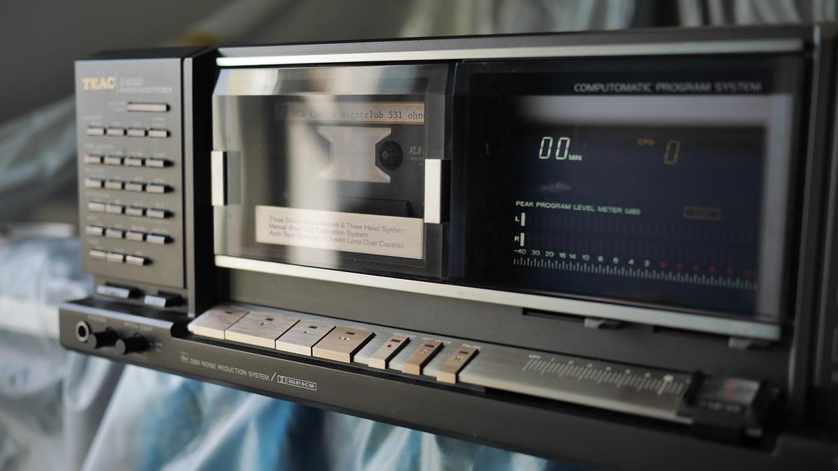 Digitaler Entfernungsmesser Yamaha : Compact cassette