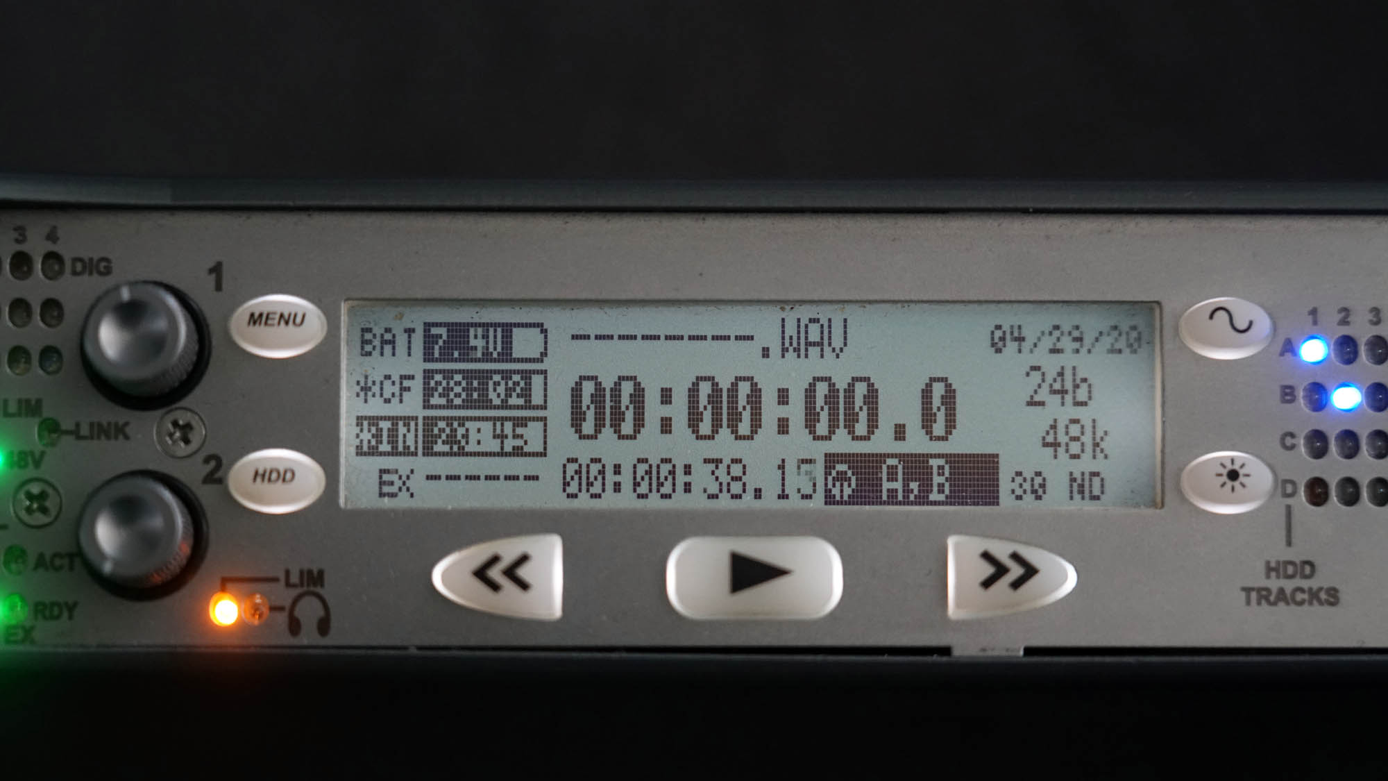 Sound Devices Timecode 2000