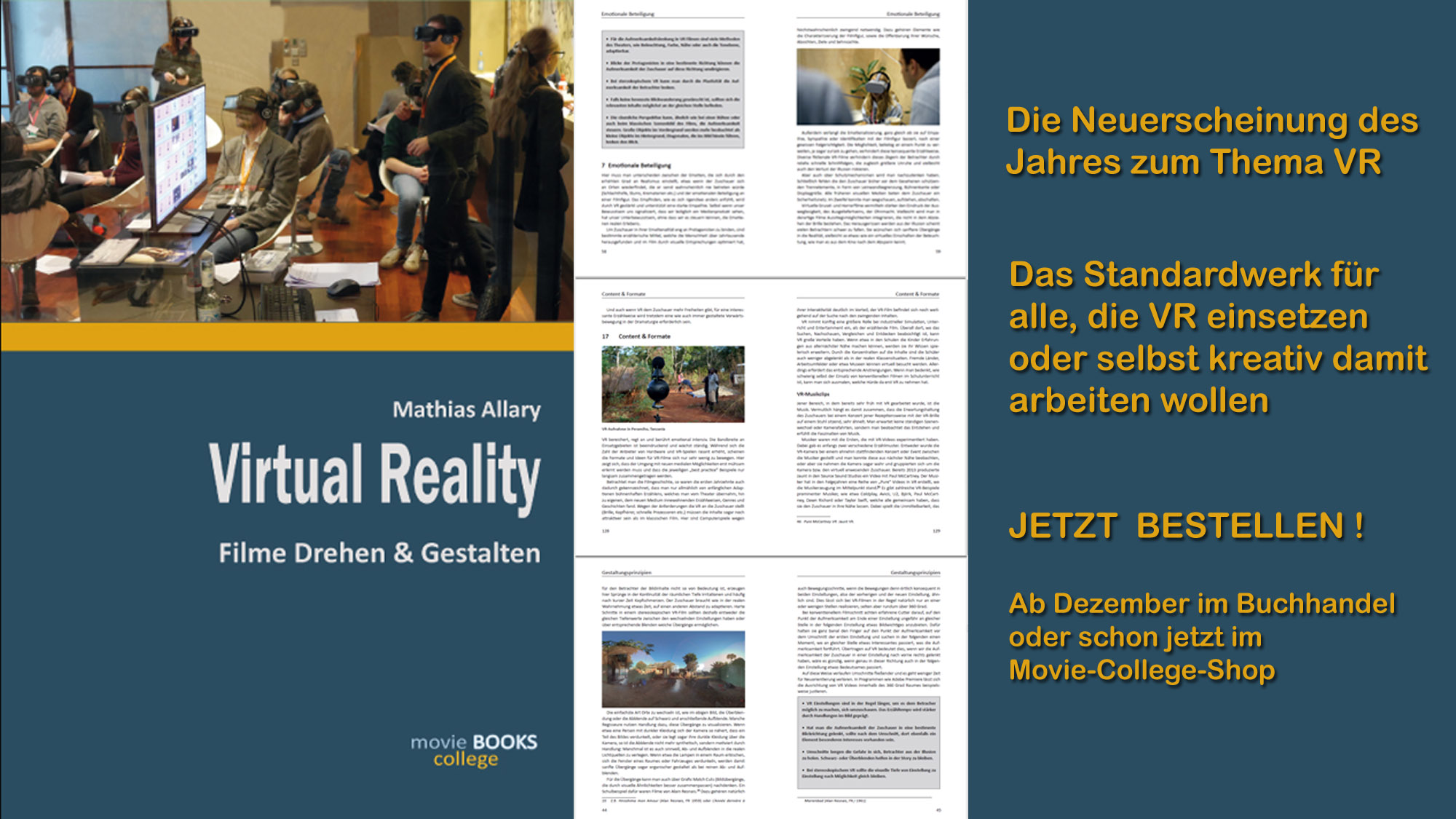 Banner Virtual Reality Buch 2000